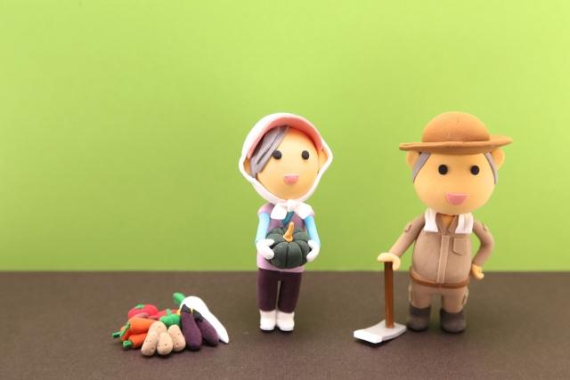 農家の人形