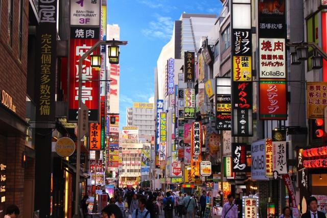昼間の歌舞伎町