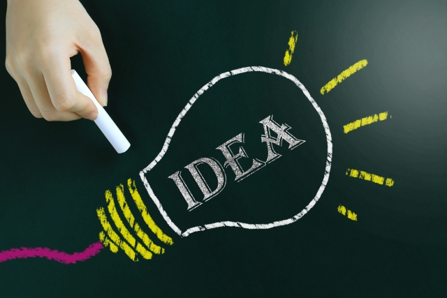 斬新なアイデア
